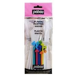Pebeo - Pebeo Plastik Spatül 5li Set 4005
