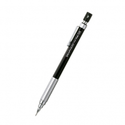 Pentel - Pentel Graph 600 Teknik Çizim Versatil Kalem 0,5mm Siyah