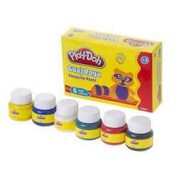 Play-Doh - Play-Doh 6 Renk Guaj Boya 30ml GU001