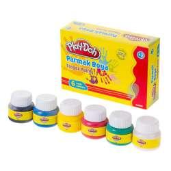Play-Doh - Play-Doh 6 Renk Parmak Boya 30ml PR001