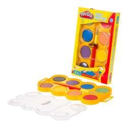 Play-Doh - Play-Doh 8 Renk Jumbo Sulu Boya SU005