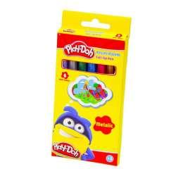 Play-Doh - Play-Doh Metalik Keçeli Kalem 5mm 6 Renk KE016