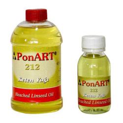 Ponart - Ponart Ağartılmış Keten Yağı Bleached Linseed Oil No:212
