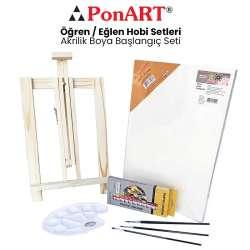 Ponart - Ponart Akrilik Boya Başlangıç Seti PHS-12