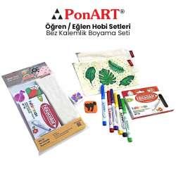 Ponart - Ponart Bez Kalemlik Boyama Seti PHS-24