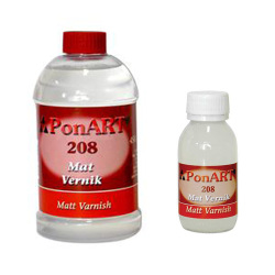 Ponart - Ponart Mat Vernik -Matt Varnish No:208