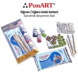 Ponart - Ponart Seramik Boyama Seti PHS-20