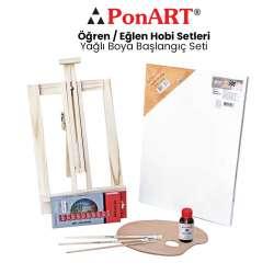 Ponart - Ponart Yağlı Boya Başlangıç Seti PHS-11
