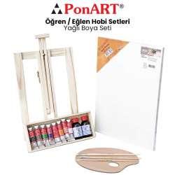 Ponart - Ponart Yağlı Boya Seti PHS-10
