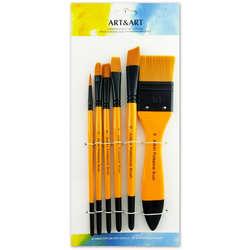 Anka Art - Profesyonel Hobi Fırça Seti 6lı