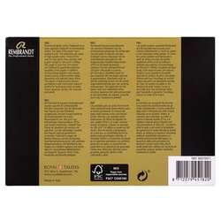 Rembrandt - Remrandt Sulu Boya Kartpostal Blok 300g 15 Yaprak 10.5x14.8cm (1)