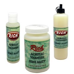 Rich - Rich Su Bazlı Yarı Mat Vernik