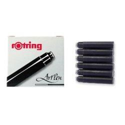 Rotring - Rotring ArtPen Kaligrafi Kalemi Kartuş Siyah 6lı Paket