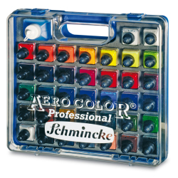 Schmincke - Schmincke Aero Color Airbrush Boyası Set 37x28ml