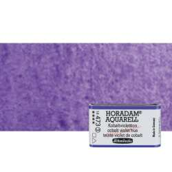 Schmincke - Schmincke Horadam Aquarell 1/1 Tablet 473 Cobalt Violet Hue seri 3 (1)