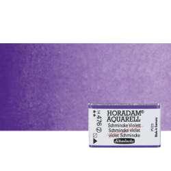 Schmincke - Schmincke Horadam Aquarell 1/1 Tablet 476 Schmincke Violet seri 2