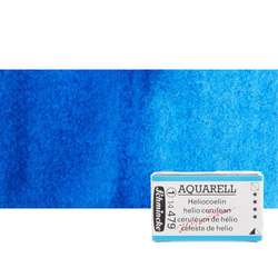 Schmincke - Schmincke Horadam Aquarell 1/1 Tablet 479 Helio Cerulean seri 1