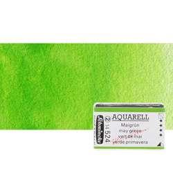 Schmincke - Schmincke Horadam Aquarell 1/1 Tablet 524 May Green seri 2