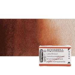 Schmincke - Schmincke Horadam Aquarell 1/1 Tablet 648 Translucent Brown S2