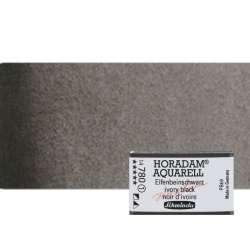 Schmincke - Schmincke Horadam Aquarell 1/1 Tablet 780 Ivory Black seri seri 1 (1)