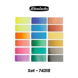 Schmincke - Schmincke Horadam Aquarell Sulu Boya 18li 1/1 Tablet 74318 (1)