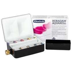 Schmincke - Schmincke Horadam Aquarell Sulu Boya Setleri 8li Yarım Tablet 74 408
