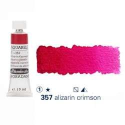 Schmincke - Schmincke Horadam Aquarell Tube 15ml Seri 1 Alizarin-Crimson 357