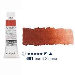 Schmincke - Schmincke Horadam Aquarell Tube 15ml Seri 1 Burnt Sienna 661