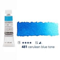 Schmincke - Schmincke Horadam Aquarell Tube 15ml S1 Cerulean Blue Tone 481