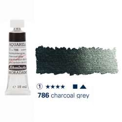 Schmincke - Schmincke Horadam Aquarell Tube 15ml Seri 1 Charcoal Grey 786
