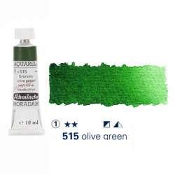 Schmincke - Schmincke Horadam Aquarell Tube 15ml Seri 1 Green Olive 515
