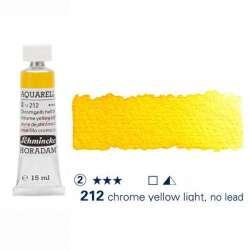 Schmincke - Schmincke Horadam Aquarell Tube 15ml S2 Chrome Yellow Light 212