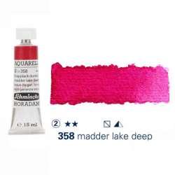 Schmincke - Schmincke Horadam Aquarell Tube 15ml Seri 2 Madder Lake Deep 358