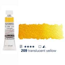 Schmincke - Schmincke Horadam Aquarell Tube 15ml S2 Translucent Yellow 209