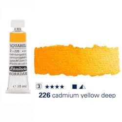 Schmincke - Schmincke Horadam Aquarell Tube 15ml S3 Cadmium Yellow Deep 226