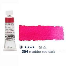 Schmincke - Schmincke Horadam Aquarell Tube 15ml Seri 3 Madder Red Dark 354