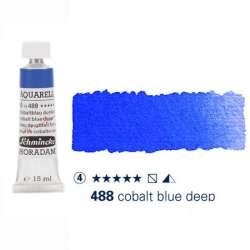 Schmincke - Schmincke Horadam Aquarell Tube 15ml Seri 4 Cobalt Blue Deep 488