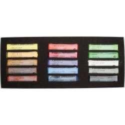 Schmincke - Schmincke Soft Pastel Boya Seti Cardboard 15li (1)