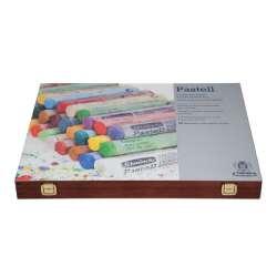Schmincke - Schmincke Soft Pastel Boya Seti Cardboard 60lı Ahşap Kutu (1)