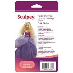 Sculpey - Sculpey Flexible Push Mold Esnek Model Kalıbı Kadın APM71