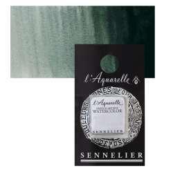 Sennelier - Sennelier Artist Tam Tablet Sulu Boya S1 No:203 Greenish Umber