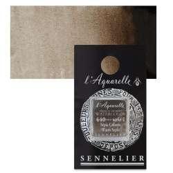Sennelier - Sennelier Artist Tam Tablet Sulu Boya S1 No:440 Warm Sepia