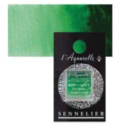 Sennelier - Sennelier Artist Tam Tablet Sulu Boya S1 809 Hookers Green