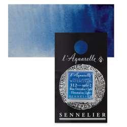 Sennelier - Sennelier Artist Tam Tablet Sulu Boya S2 312 Ultramarine Light