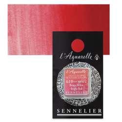 Sennelier - Sennelier Artist Tam Tablet Sulu Boya S2 619 Bright Red