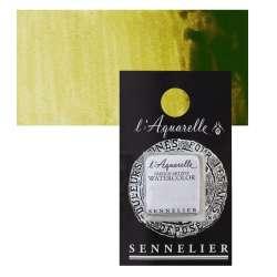 Sennelier - Sennelier Artist Tam Tablet Sulu Boya S2 857 Brown Green