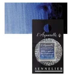 Sennelier - Sennelier Artist Tam Tablet Sulu Boya S3 395 Blue Indanthrene