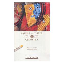 Sennelier - Sennelier Yağlı Pastel 48li Set (1)