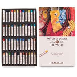 Sennelier - Sennelier Yağlı Pastel 48li Set