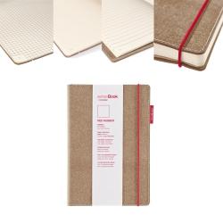 SenseBook - Transotype SenseBook Red Rubber A4 Defter